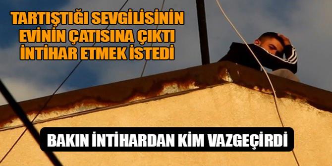 Erzurum'da İntihar etmek isteyen genci sevgilisinin teyzesi vazgeçirdi