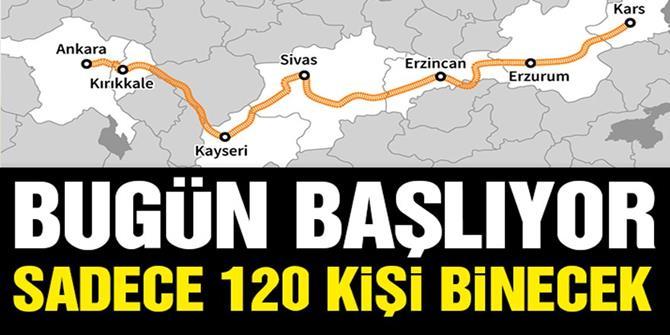 """""""Turistik Doğu Ekspresi"""" yolcuları mehteranla karşılanacak"""