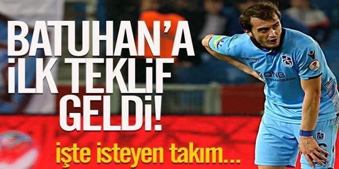Trabzonsporlu Batuhan'a Erzurum talip oldu