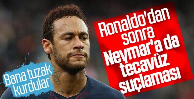 Neymar'ın tecavüz davasında olay görüntüler ortaya çıktı
