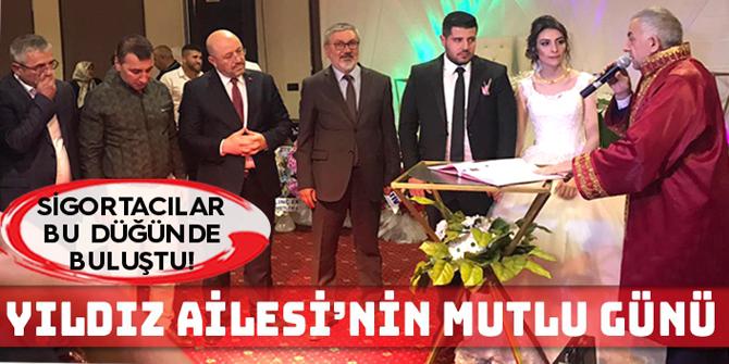 Erzurum'da sigorta sektörününü bir araya getiren düğün