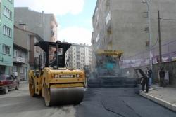 İsmetpaşa'ya sıfır asfalt yapılıyor