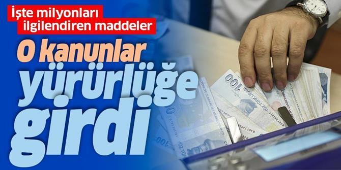 Torba Yasa Resmi Gazete'de yayımlandı!.