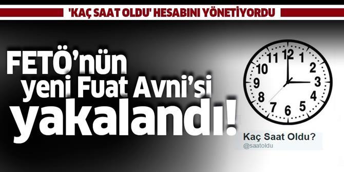 FETÖ'nün yeni Fuat Avni'si yakalandı!.
