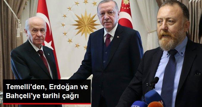 Sezai Temelli'den Erdoğan ve Bahçeli'ye canlı yayın çağrısı