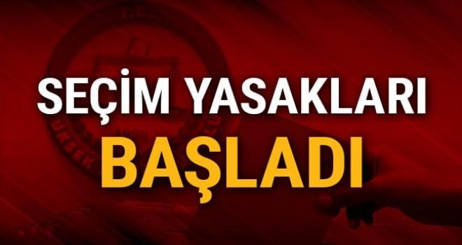 23 Haziran İstanbul seçimleri için propaganda serbestliği ve seçim yasakları başladı