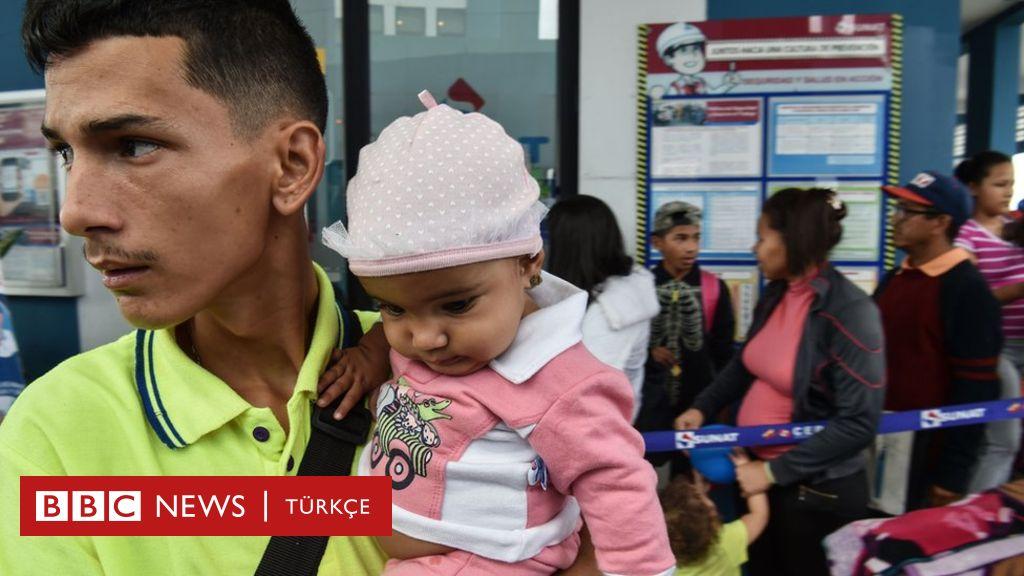 Bir günde 5 bin 400 Venezuelalı Peru'ya giriş yaptı