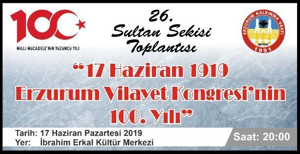 26. Sultan Sekisi Toplantısı