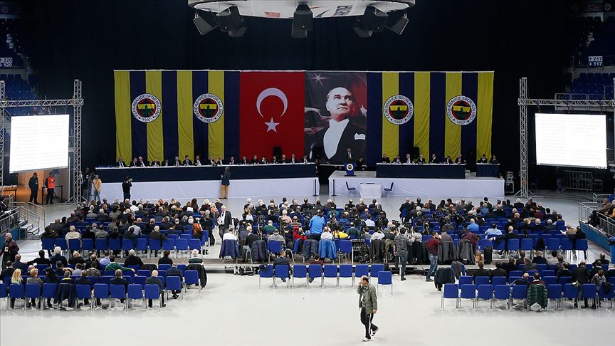Fenerbahçe'de olağanüstü genel kurul toplantısı yapılamadı