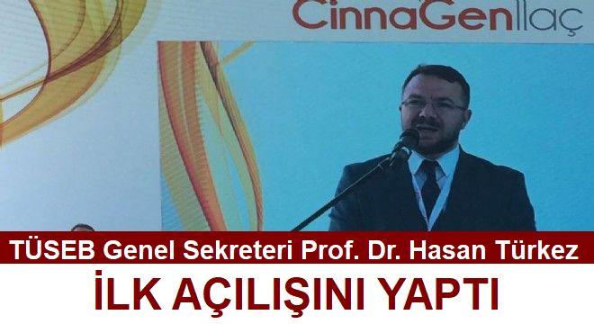 TÜSEB Genel Sekreteri Prof. Dr. Hasan Türkez, ilk açılışını yaptı