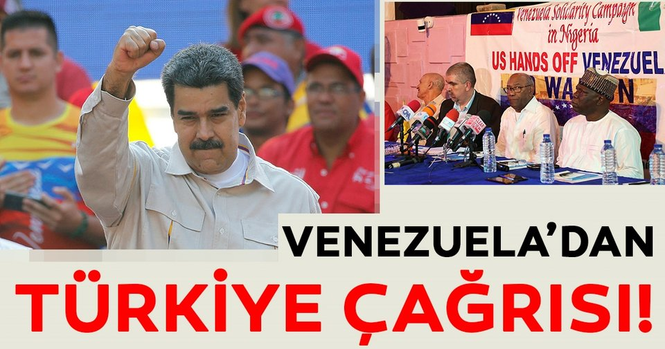 Venezuela'dan Türkiye'ye Oslo süreci çağrısı
