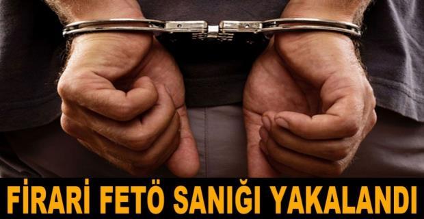 Erzurum'da aranan FETÖ sanığı yakalandı