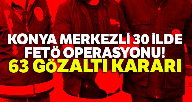 FETÖ operasyonu: Çok sayıda kişi hakkında gözaltı kararı