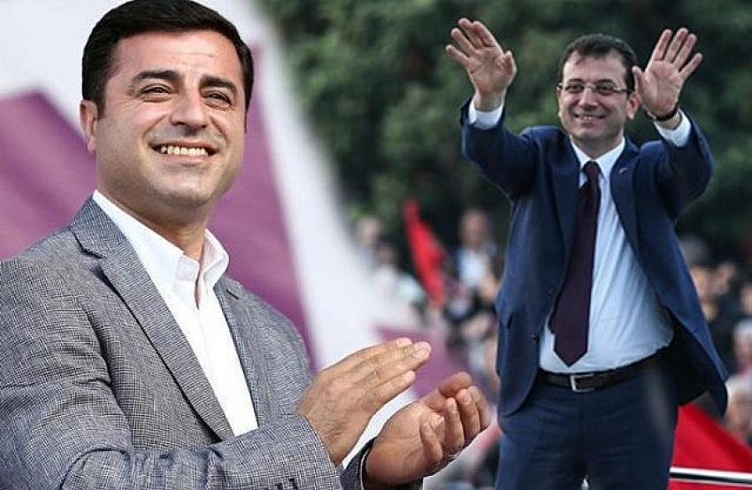Demirtaş'tan Ekrem İmamoğlu'na destek açıklaması