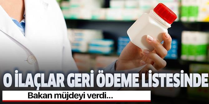 Bakan Selçuk: 55 ilacı daha geri ödeme listesine aldık.