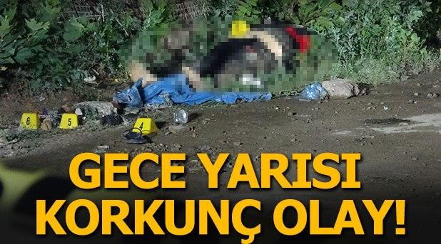 Boş arsa üzerinde kadın cesedi bulundu!
