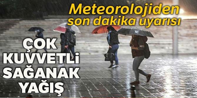 Meteoroloji duyurdu!