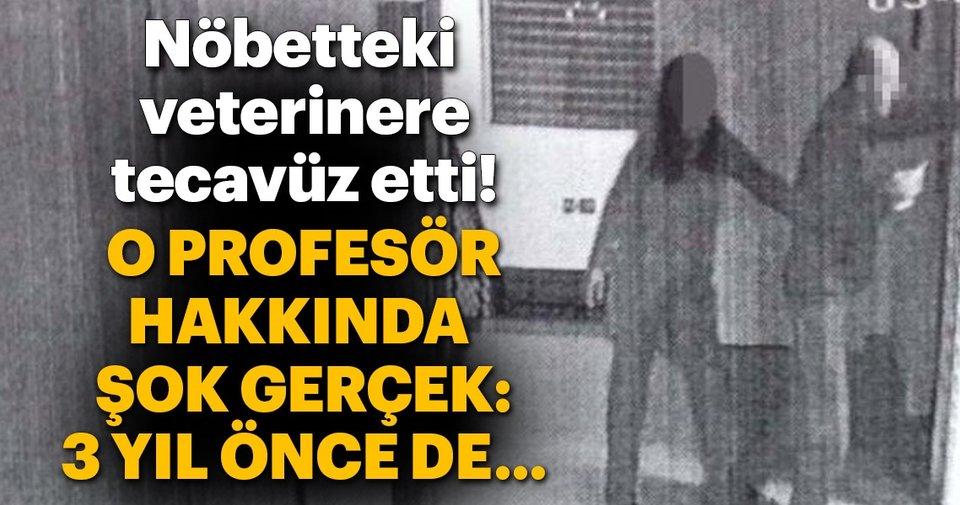 Profesörün tecavüzü...