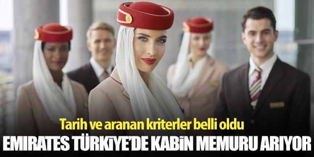 Emirates Havayolları Türkiye'de kabin görevlisi arıyor!