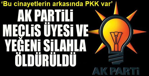 'Bu cinayetlerin arkasında PKK var'