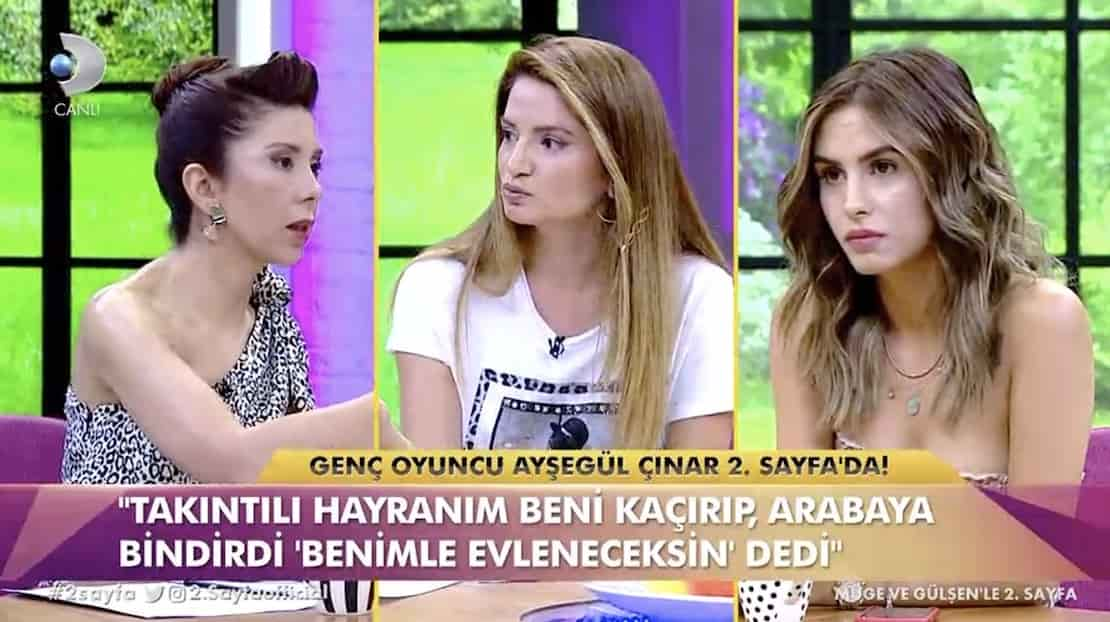 Ayşegül Çınar: Zorla arabaya bindirip...