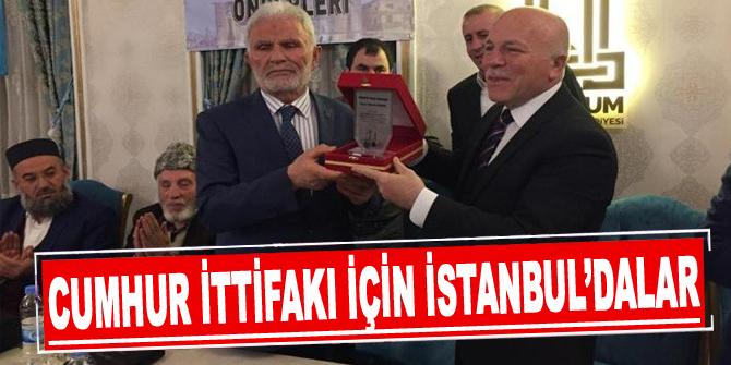 Kanaat Önderleri Derneği, Cumhur ittifakı için İstanbul'da