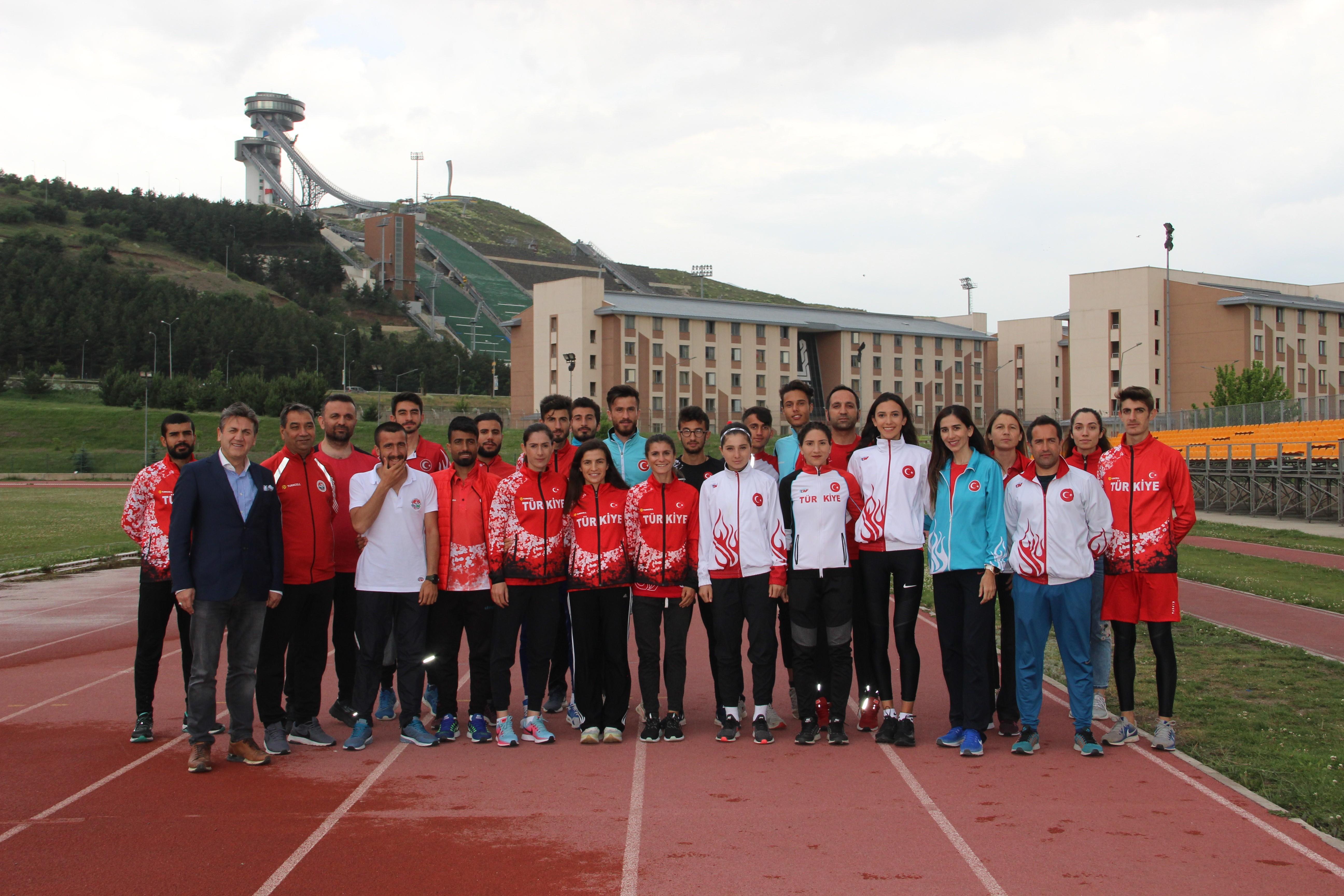 Atletizm Milli Takımı, Erzurum'da kamp yapıyor
