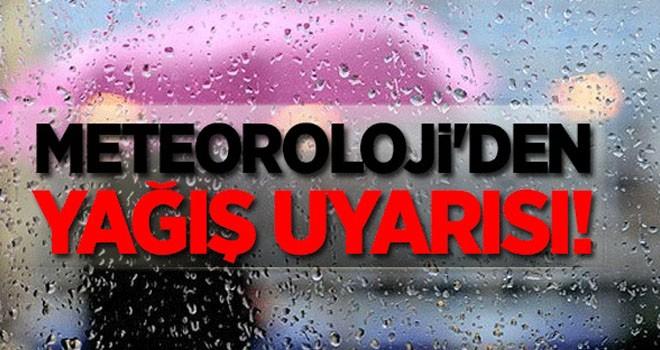 Doğu Anadolu'daki 4 il için gök gürültülü sağanak uyarısı