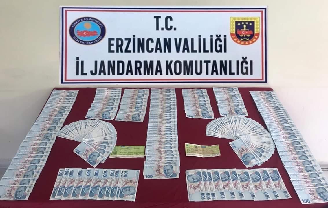 Erzincan'da sahte para operasyonu