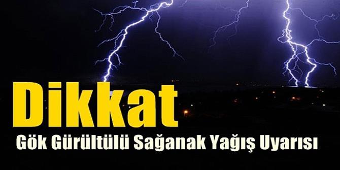 Erzurum ve Ardahan'da gök gürültülü sağanak uyarısı