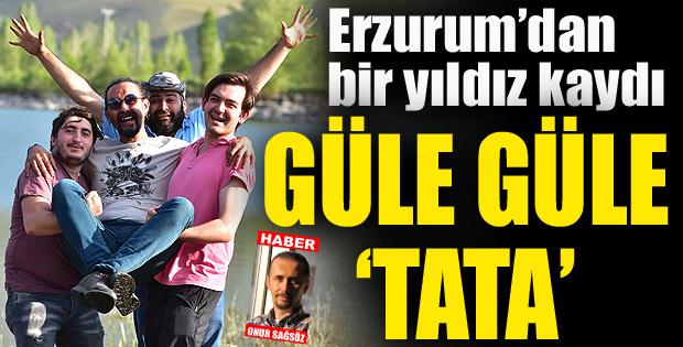 Erzurum'dan bir yıldız kaydı