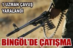 Bingöl'de çatışma: 1 yaralı