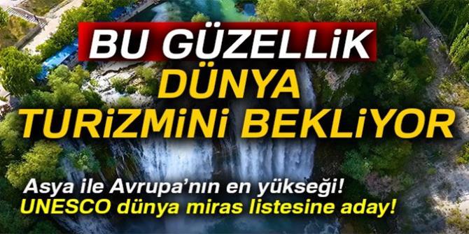 'Tortum Şelalesi' dünya turizmine açılsın