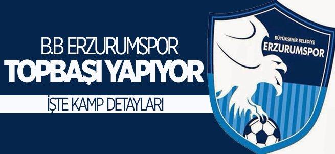 B.B Erzurumspor Topbaşı yapıyor!