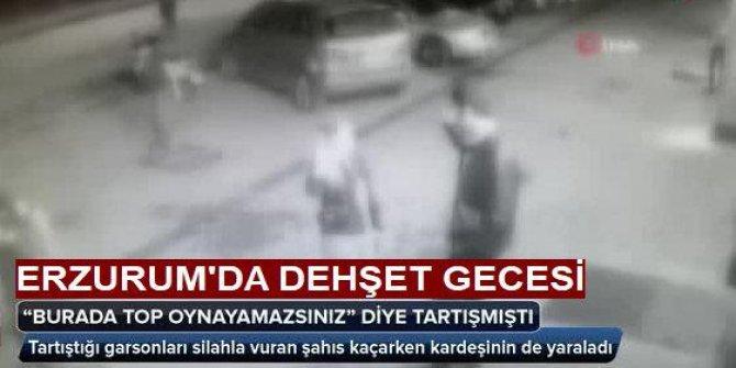 Erzurum'da dehşet gecesi: 3 kişiyi vurdu