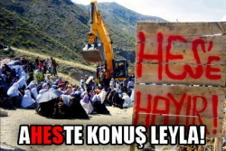 A'hes'te konuş Leyla!
