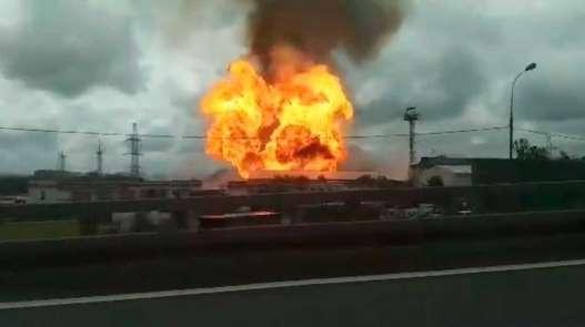 Rusya'da elektrik santralinde yangın