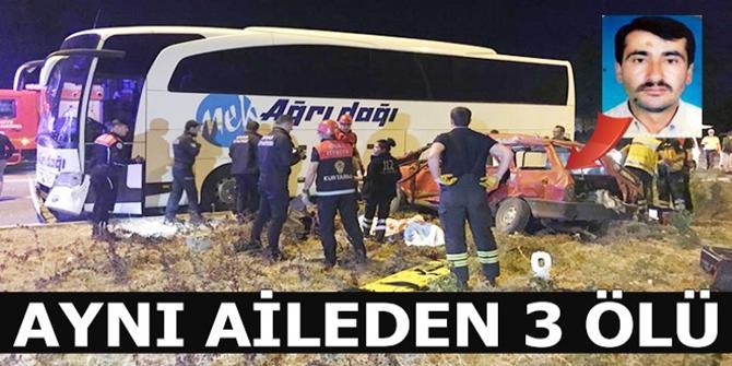 Sivas'taki kazada ölenlerin sayısı 3'e yükseldi