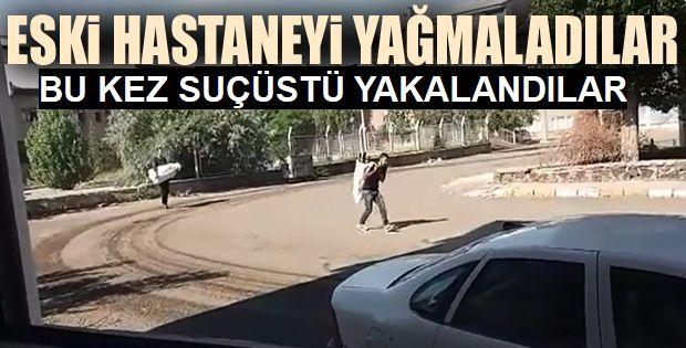 Polis şüpheli hırsızı suçüstü yakaladı