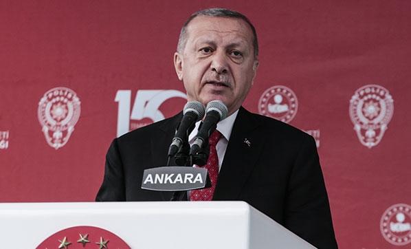 Erdoğan'dan ,15 Temmuz mesajı