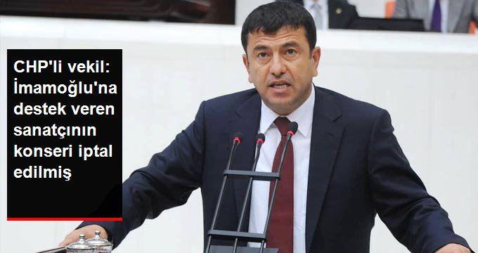 CHP'li Veli Ağbaba'dan şaşırtan iddia: Pamela'nın konseri iptal edilmiş