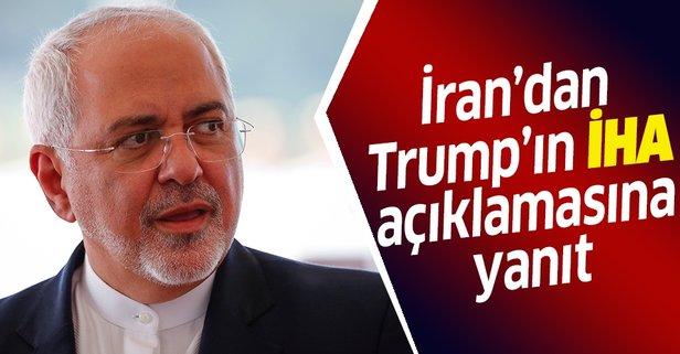 Trump'ın insansız hava aracı açıklamasına İran'dan yanıt