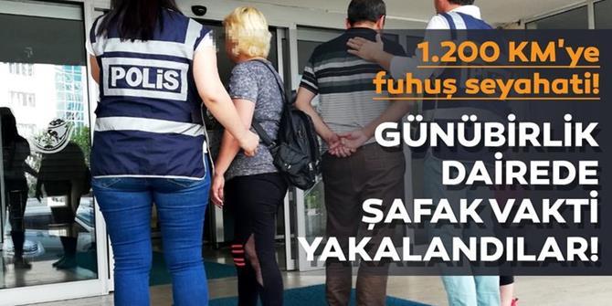 Erzurum'da fuhuş operasyonu: 1 kişi tutuklandı