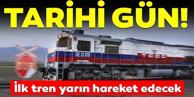 Türkiye ile Gürcistan arasındaki ilk İhracat treni yarın Erzurum'dan hareket edecek