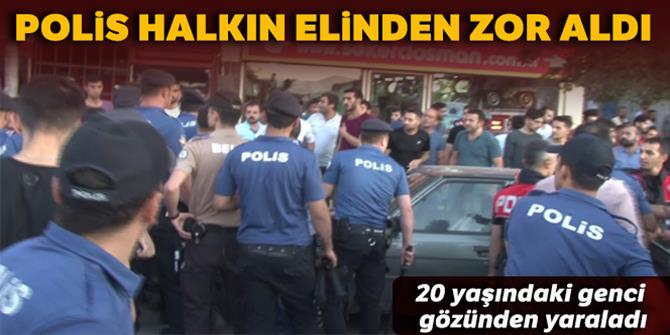Erzurum'da Afganlılar olay çıkardı