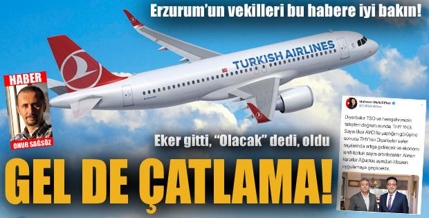 Erzurum Milletvekillerine duyurulur