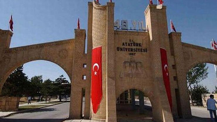 """Erzurum Atatürk Üniversitesi AYM'nin """"hak ihlali"""" kararını kınadı"""