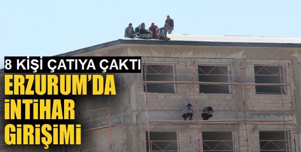 Paraları eksik yatan 8 işçi intihara kalkıştı