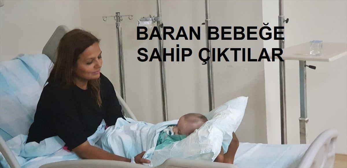 Kazadan yara almadan kurtulan Baran bebeğe doktorlar sahip çıktı