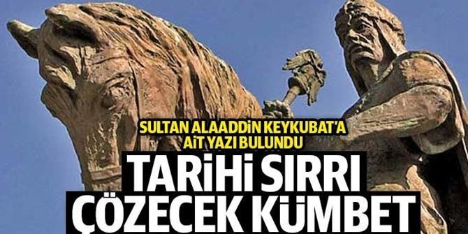 """Erzurum'da """"Sultan Alaaddin"""" yazılı sanduka bulundu"""